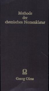 METHODE DER CHEMISCHEN NOMENCLATUR für das antiphlogistische System von Morveau, Lavoisier und de Fourcroy