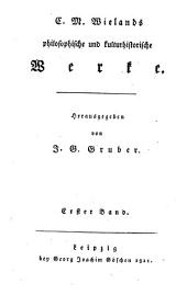Sammtliche Werke: Philosophische und kulturhistorische Werke