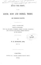 On the Aborigines of India: Essay the First, on the Kocch, Bodo and Dhimál Tribes