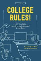 College Rules   4th Edition PDF