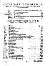 Tractatus criminalis, planam ... aliquot titulorum libri IV institutionum iuris D. Iustiniani Imp. explicationem complectens