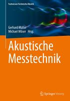 Akustische Messtechnik PDF