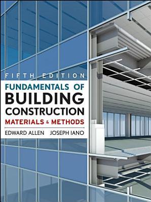 Fundamentals of Building Construction  Subscription eBook PDF