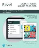 Revel for DK Guide to Public Speaking    Combo Access Card