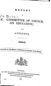 Minutes of the Committee of Council on Education
