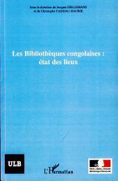 Les bibliothèques congolaises : état des lieux