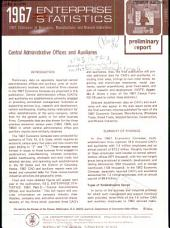 1967 Enterprise Statistics: Central administrative offices and auxiliaries