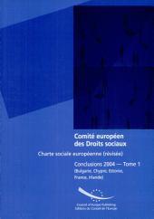 Charte sociale européenne (revisée): Bulgarie, Chypre, Estonie, France, Irlande