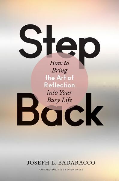 Download Step Back Book