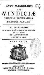 Anti-mangoldus siue vindiciae historiae ecclesiasticae