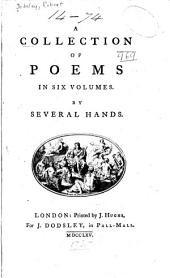 A Collection of Poems in Six Volumes: Volume 6