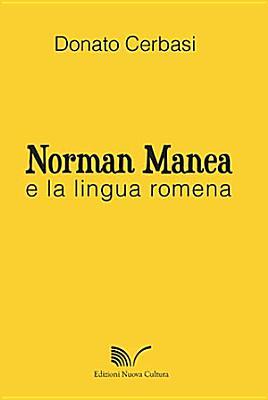 Norman Manea e la lingua romena PDF