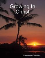 Growing In Christ PDF