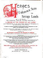 Heroes of Unknown Seas and Savage Lands