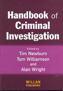 Handbook of Criminal Investigation PDF