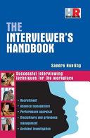 The Interviewer's Handbook