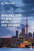 Introduction to Real Estate Development and Finance PDF
