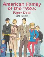 American Family of the 1980s Paper Dolls PDF