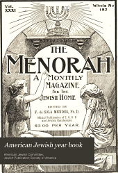 The American Jewish Year Book: Volume 3
