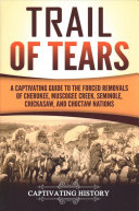 Trail of Tears Book