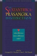 The Svatantrika-Prasangika Distinction