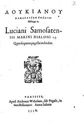 Lukianu Samosateos enaaioi dialogi 15
