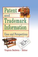 Patent and Trademark Information PDF