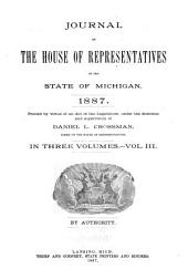 Journal of the House of Representatives of the State of Michigan: Volume 3