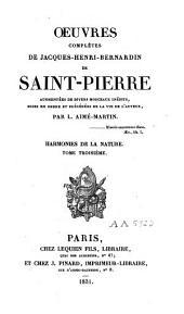 Oeuvres complètes de Jaques-Henri-Bernardin de Saint-Pierre: Volume10
