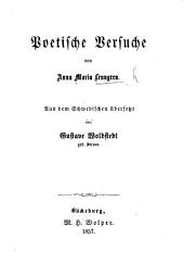 Poetische Versuche. ... Aus dem Schwedischen übersetzt von G. Woldstedt