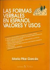 Las formas verbales en español. Valores y usos