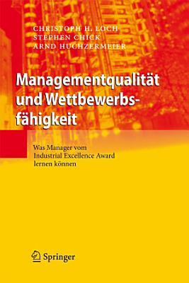 Managementqualit  t und Wettbewerbsf  higkeit PDF