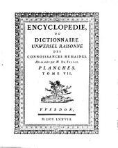 Encyclopedie ou dictionnaire universel raisonne des connoissances humaines mis en ordre par M. De Felice: Volume49