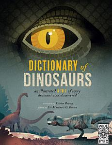 Dictionary of Dinosaurs Book