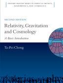 Relativity, Gravitation and Cosmology