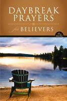 NIV  DayBreak Prayers for Believers  eBook PDF