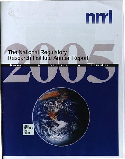 Annual Report of the National Regulatory Research Institute PDF
