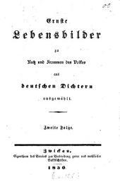 Ernste Lebensbilder zu Nutz und Frommen des Volkes aus deutschen Dichtern ausgewählt: Band 2