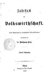 Jahrbuch für Volkswirtschaft: Band 2