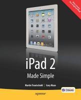 iPad 2 Made Simple PDF
