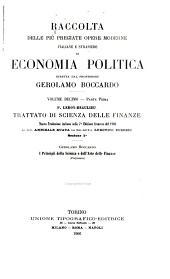 Raccolta delle piú pregiate opere moderne italiane e straniere di economia politica: Volume 10,Parte 1