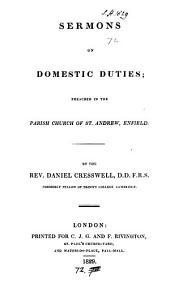 Sermons on domestic duties