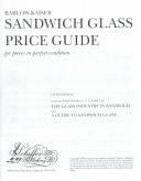 Barlow-Kaiser Sandwich Glass Price Guide for Pieces in Perfect Condition