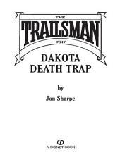The Trailsman #347: Dakota Death Trap