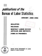Publications of the Bureau of Labor Statistics PDF