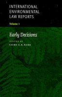 International Environmental Law Reports PDF