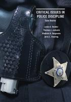 Critical Issues in Police Discipline PDF