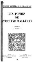 Download Dix Po  mes Book