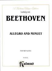 Allegro and Minuet: Woodwind - Flute Duet