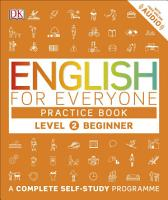 English for Everyone Practice Book Level 2 Beginner PDF